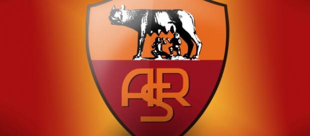 Il simbolo della squadra romanista
