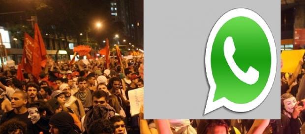 Usuários do WhatsApp ameaçam protesto nas ruas