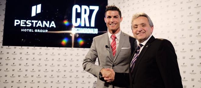 Cristiano Ronaldo e Grupo Pestana são parceiros