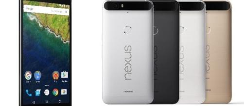 Google Nexus 6P nelle sue varie colorazioni