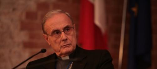 Il vescovo di Mazara del Vallo, Domenico Mogavero