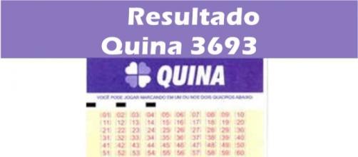 Resultado do jogo Quina (18) 3693