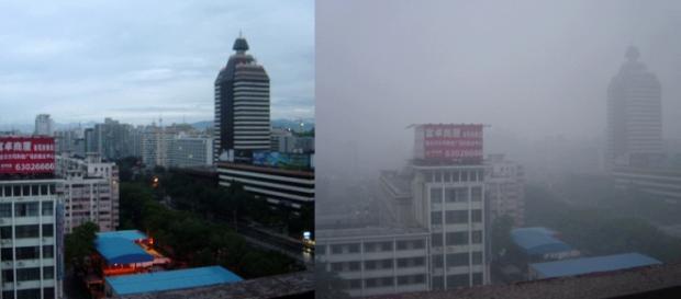 Alerta roja por contaminación en Pekín.