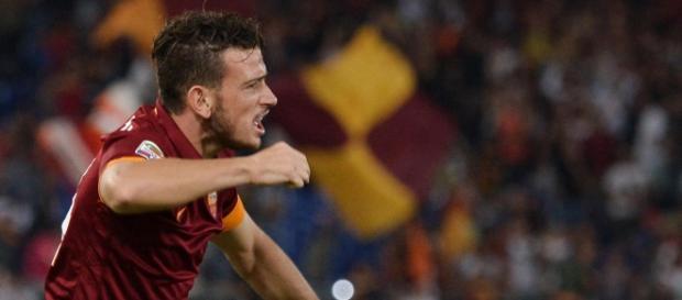 Alessandro Florenzi esulta dopo il gol