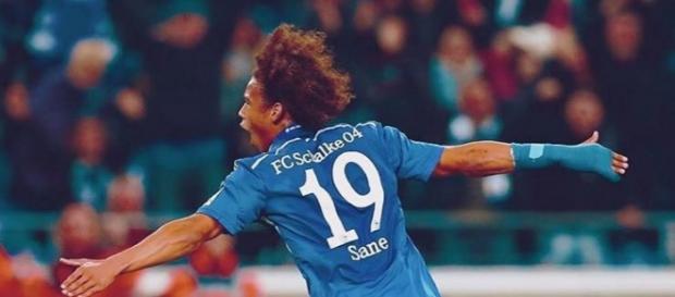 Leroy Sane bei Schalke 04 vor dem Abflug