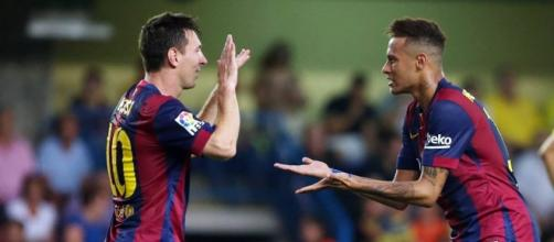 Messi y Neymar estarían frente a River