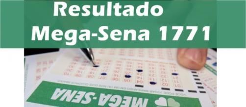 Resultado do jogo Mega-Sena 1771