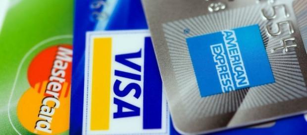 El uso de las tarjetas de crédito.