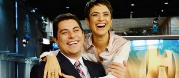 Evaristo e Sandra - Divulgação: Globo