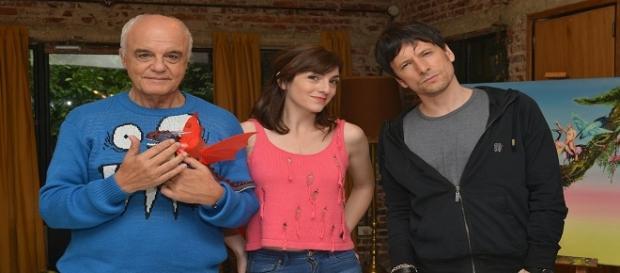 Los tres protagonistas del especial de TV