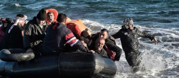 Naufragio sulle coste della Turchia