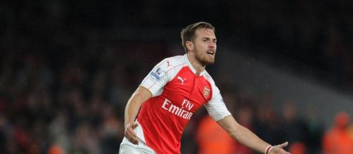 Aaron Ramsey - 'The Welsh Rambo'.