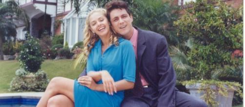 Bianca Rinaldi e Petronio em ''Pícara Sonhadora''
