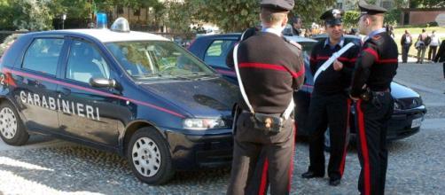 I carabinieri di Caserta in azione