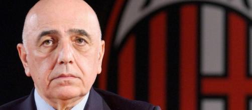 Il d.s del Milan, Adriano Galliani