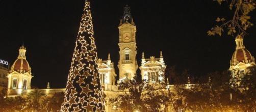 Plaza del Ayuntamiento Valencia Navidad