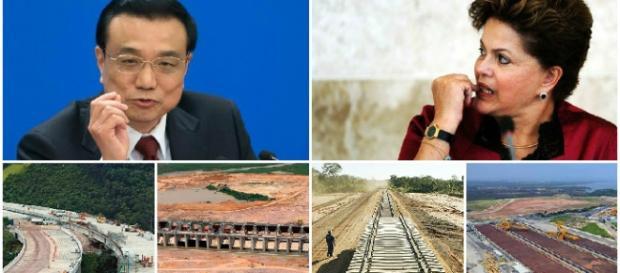 China quer estradas brasileiras