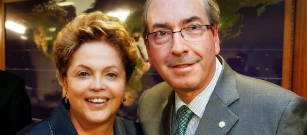 Cunha abriu processo de Impeachment contra Dilma