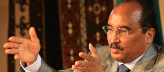El presidente, Mohamed uld, tenía una larga agenda