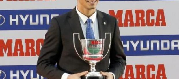 El Trofeo Zamora que otorga el diario 'Marca'
