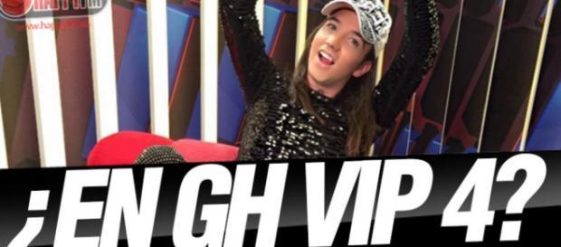 El youtuber Aless Gibaja, GHVIP