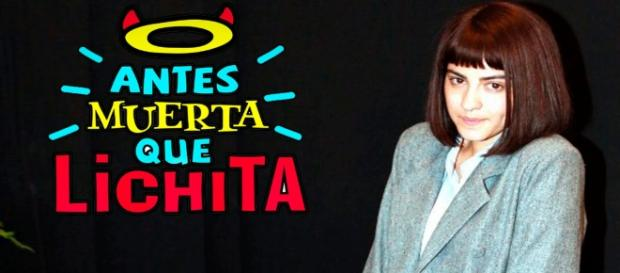 Maite Perroni como a feia Lichita.