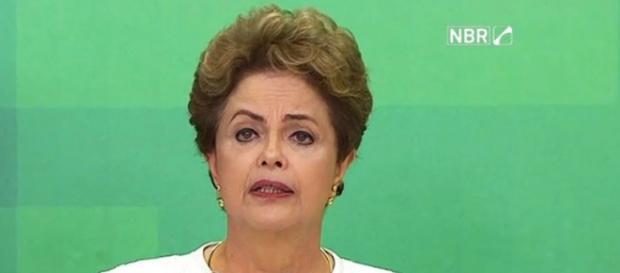 Dilma se pronuncia (Foto: NBR/Divulgação)