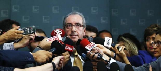 Presidente da Câmara, Eduardo Cunha.