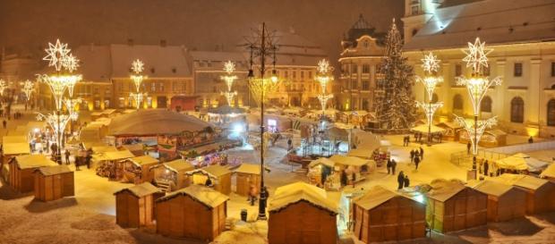 Târg de Crăciun organizat la Sibiu