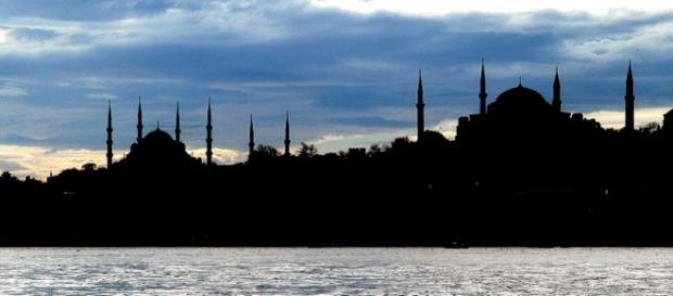Un'immagine di Istanbul e il Bosfoto