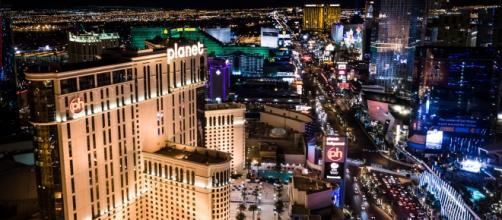 Aerial view of Las Vegas Strip (Wikipedia)