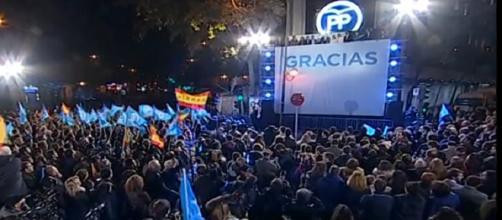 Escuchando el discurso de Rajoy