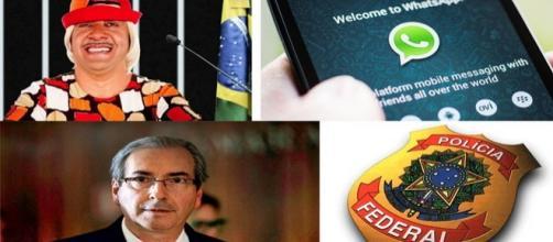 Tiririca presidente, whatsapp, Eduardo Cunha