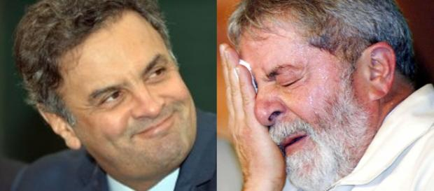 Aécio vence e Lula perde em todos os cenários