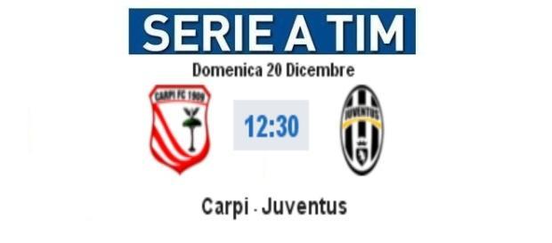 Live Carpi - Juventus su BlastingNews