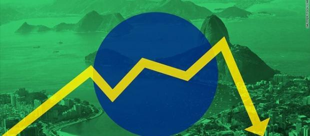 Queda na economia brasileira assusta o Mundo