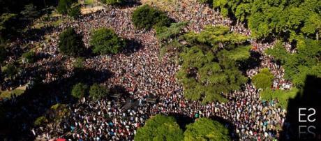 Más de 10 mil personas estuvieron presentes