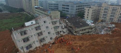 Deslizamento de terra na China: 91 desaparecidos