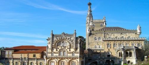 Hotel Palace Bussaco, um dos locais das gravações