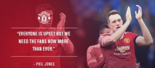 Jones says it's time to be united (photo: Twitter)