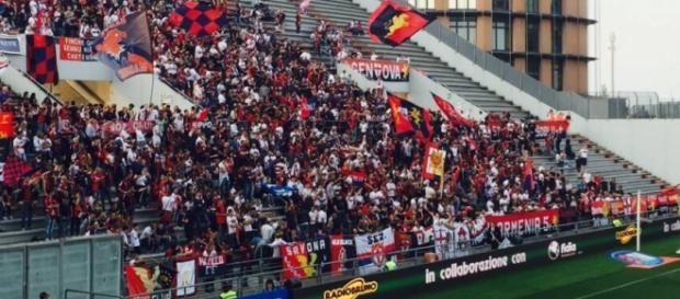 Genoani in festa al Mapei Stadium