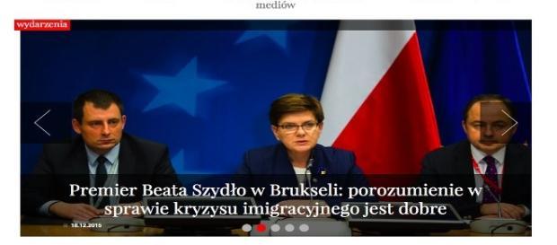 Konferencja premier B. Szydło w Brukseli