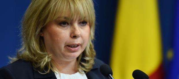 Ministrul de Finanţe Anca Paliu Dragu