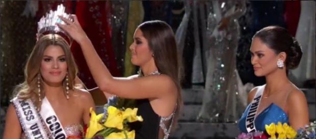 Miss Universo 2015 (reprodução/Bandeirantes)
