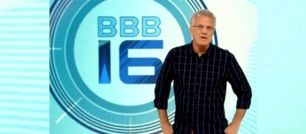 Pedro Bial comanda o Big Brother Brasil 16