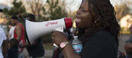 #BlackLivesMatter Protester (Wikipedia)