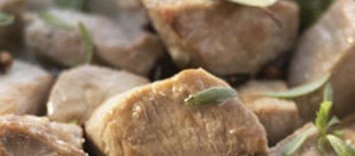 Carne em Vinha d'Alhos típica da Madeira