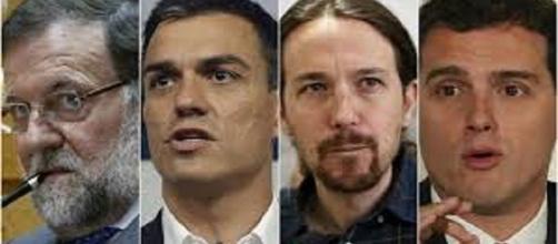 Cuatro candidatos, para una poltrona...