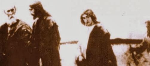 foto do Cronovisor: Jesus entre seus apóstolos