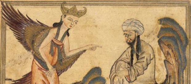 Archanioł-kosmita zaraża wirusem mózg Mahometa